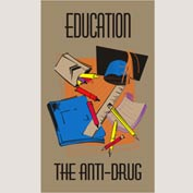 "Education Anti-Drug Mat - 36"" x 60"""