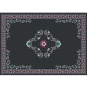 "Decor Mat - Black 72"" x 96"""