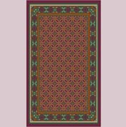 "Decor Mat - Burgundy 36"" x 60"""