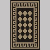 "Decor Mat - Checkerboard Suede 36"" x 60"""