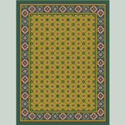 "Decor Mat - Green 72"" x 96"""