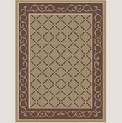 "Decor Mat - Lattice Suede 72"" x 96"""