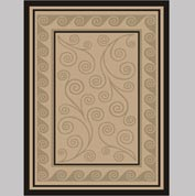 "Decor Mat - Swirl Suede 72"" x 96"""