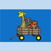 "Animal Wagon Mat - 48"" x 72"""