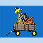 "Animal Wagon Mat - 72"" x 96"""
