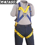 Gemtor 833-4, Full-Body Harness - XL - Tongue Buckle Leg Straps