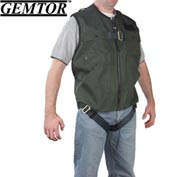 Gemtor 846377-2, Vest Full-Body Harness - Green - CSA - Medium