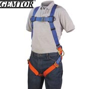 Gemtor 932H-4, Full-Body Harness - Hip D-Rings - XL - Friction Buckle Leg Straps