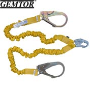 Gemtor D11ENYZ6, Decelerator II Stretch Energy Absorbing Lanyard, 6 ft.