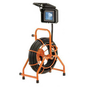 General Wire C-GP-B-2 MINI-POD™ Pipe Inspection System W/125' Cable & Digital Locator