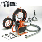 "General Wire I-95-A Sectional Machine w/ (6) 7-1/2'x5/8"" Cables, Cable Carrier & Cutter Set"
