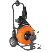 "General Wire PS-92-E Speedrooter 92 Drain/Sewer Cleaning Machine W/ 100' x 5/8"" Cable & Cutter Set"