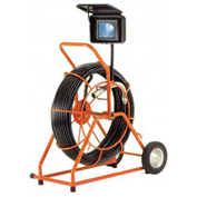 General Wire SL-GP-F-2 Gen-Eye POD Pipe Inspection System, 200' Cable, Self-Leveling Color Cam