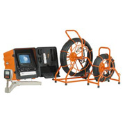 General Wire SL-SDN-B Gen-Eye SDN Drain/Pipe Inspection Camera W/ 200' Standard Gel Rod/Color Camera