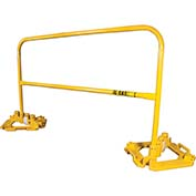 Guardian 15201, 10' L Rail With Multi-Directional Base Plate Kit