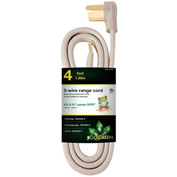 GoGreen Power, GG-27004, Range Cord Gray - 4 Ft