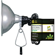 "GoGreen Power, GG-34806, 5.5"" Clamp Light - 6 Ft Cord - Brown"