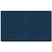 "Ghent® Vinyl Bulletin Board with Wrapped Edge, 120-5/8""W x 48-5/8""H, Navy"