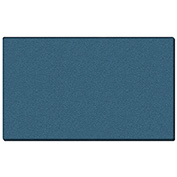"Ghent® Vinyl Bulletin Board with Wrapped Edge, 144-5/8""W x 48-5/8""H, Ocean"