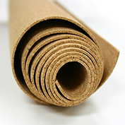 "Ghent® Natural Cork Roll, 144""W x 48""H x 1/4""D"