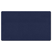"Ghent® Fabric Bulletin Board with Wrapped Edge, 72-5/8""W x 48-5/8""H, Blue"
