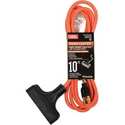 Carol 00690.63.04 10' Outdoor Powr-Center ® Extension Cord, 14awg 15a/125v -Orange