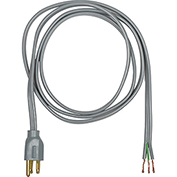 Carol 04806.73.10 6' Spt-3 Power Supply Replacement Cord, 16awg 13a/125v - Gray