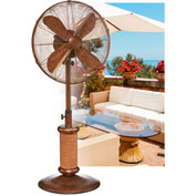 "Deco Breeze® Nautica Adjustable Outdoor Fan, 18""L x 18""W x 50""H - DBF2500"