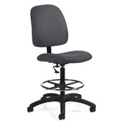 Global™ Goal - Drafting Chair - Stone (Gray)