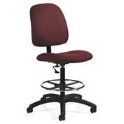 Global™ Goal - Drafting Chair - Rhapsody (Burgundy)