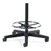 "Global™ Drafting Stool Kit w/ 10"" Gas Cylinder"