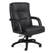 Global™ Arturo - High Back Tilter - Black Upholstery
