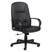 Global™ Arno - High Back Tilter Chair - Black Upholstery