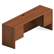 Global™ Adaptabilities - Kneespace Credenza - Avant Honey Laminate