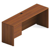 "Global™ Credenza - Left Pedestal - 72"" x 20"" - Avant Honey - Adaptabilities Series"
