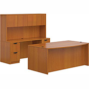 Offices To Go™ Superior Laminate Layout Bundle #9 - American Cherry