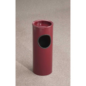 Glaro 3 Gallon Ash/Trash Receptacle w/Sand Cover, Satin Black - 151-BK-BK