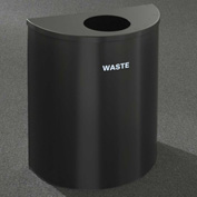 Glaro Recyclepro Half Round Gloss Brass, 29 Gallon Waste - W2499GB-GB-W