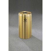 Glaro Recyclepro Single Stream Satin Brass, 16 Gallon Bottle/Can - B-1532-BE