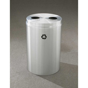 Glaro Recyclepro 2 Stream Satin Aluminum, (2) 16-1/2 Gallon Bottles/Cans - BC-2032-SA