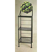 "Art Silhouette Bakers Rack 15""W - Artichoke (Antique Bronze)"