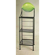 "Art Silhouette Bakers Rack 15""W - Lime (Aged Iron)"