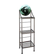 """Art Silhouette Bakers Rack 15""""W - Sealions (Burnished Copper)"""