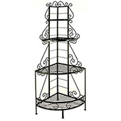 "French Corner Rack - No Tips 24""W (Aged Iron)"