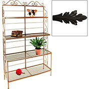 "French Bow Rack - No Tips 48""W (Satin Black)"