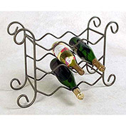 Wine Rack 9 Bottle (Aged Iron)