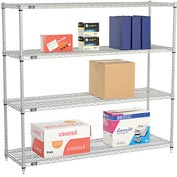 "Nexelate Wire Shelving, 60""W X 21""D X 54""H"