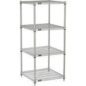 "Nexelate Wire Shelving, 24""W X 24""D X 54""H"