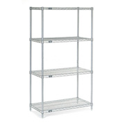 "Nexelate Wire Shelving, 24""W X 14""D X 63""H"