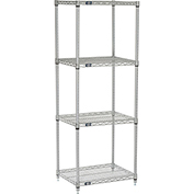 "Nexelate Wire Shelving, 24""W X 18""D X 63""H"
